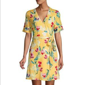 NEW Alexia Admor Dani Floral Wrap Dress Sz 6
